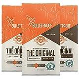 Bulletproof The Original Whole Bean Coffee, Medium Roast, Keto Friendly, Certified Clean Coffee, Rainforest Alliance…