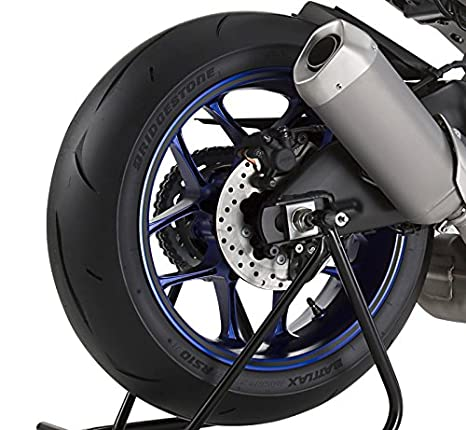 Adhesivos para Llantas Moto Hyosung GT 125 R simil carbono: Amazon.es: Coche y moto