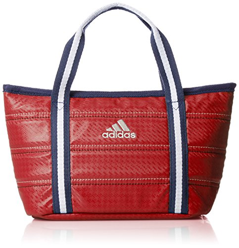 [Adidas Golf] Round Tote Bag L23 × W18 × H13cm AWT 28 A92426 Red by adidas (Image #1)