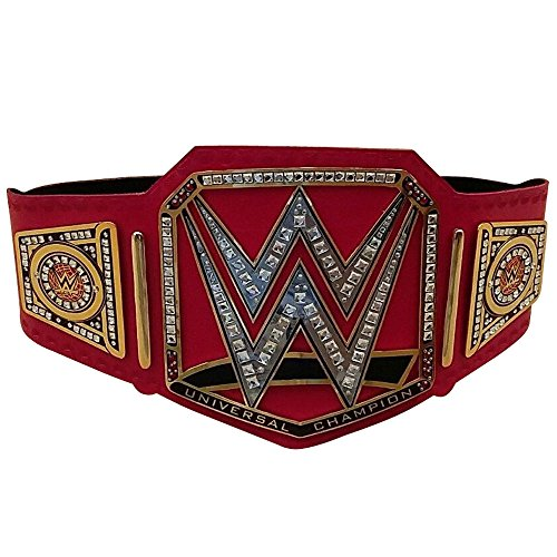 Brand New WWE Universal Champion Belt Adult Replica Genuine Leather Title Belts Zinc Alloy & Brass ()