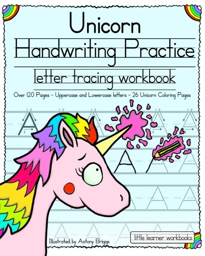 Halloween Kindergarten Writing Ideas (Unicorn Handwriting Practice: Letter Tracing Workbook (Little Learner)