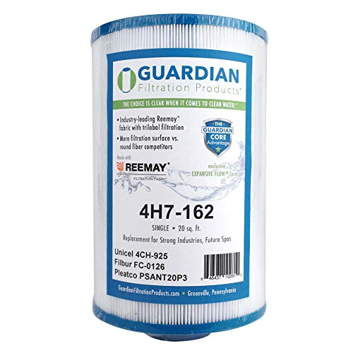 Guardian Pool Spa Filter Replaces PSANT20P3 Unicel 4CH-925 Filbur FC-0126 Strong Industries/Futura Marketing