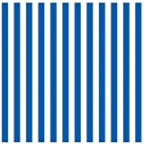 Amscan – Royal Blue Stripe Jumbo Gift Wrap 16ft, Health Care Stuffs