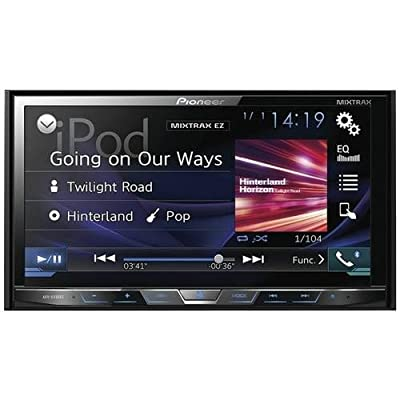Pioneer AVH-X490BS In-Dash 2-DIN 7-Inch Touchscreen DVD Receiver with Built-in Bluetooth by Pioneer