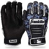 Franklin Sports CFX Pro Digi Series Batting Gloves Black/Black Camo Adult Small