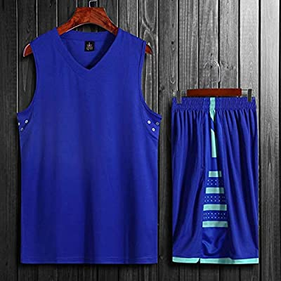 newest c6a82 66f4b Men Basketball Jerseys Sets Team Uniforms Sports Kit Clothes ...