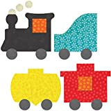 AccuQuilt 55367 GO! This & That Fabric Cutting Dies-Train 4-3/4 To 5-5/8