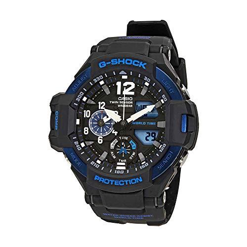 Casio G-Shock Black Dial Resin Quartz Men's Watch - Designer Plus Watches Womens Size