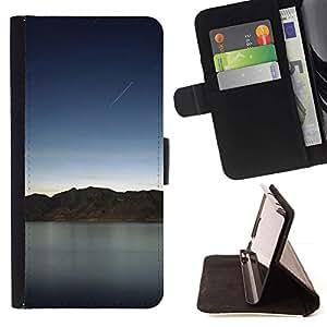 Momo Phone Case / Flip Funda de Cuero Case Cover - Naturaleza Hermosa Forrest Verde 132 - Sony Xperia Z1 L39