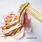 """Hipgirl Wholesale Bulk 100 Yard 3/8"""" Double Face Satin Fabric Ribbon For Gift Package Wrapping,Floral Design,Hair Bow Clip Making,Crafting,Sewing,Wedding Decor,Boy Girl Baby Shower--White"""