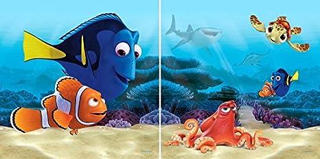 Amazon.com: Finding Dory Cushion - Dory, Hank & Nemo, Disney ...