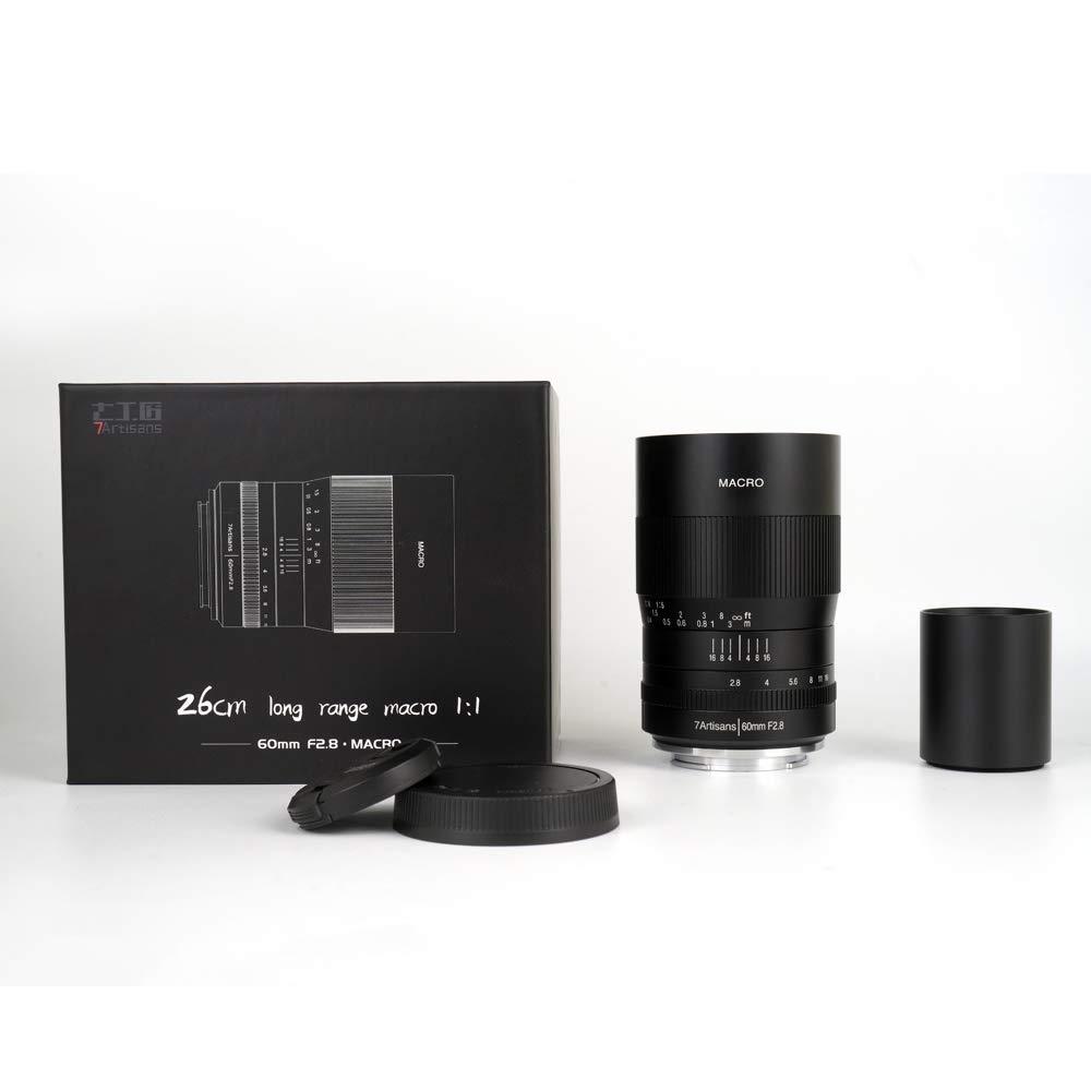 gaixample.org 7artisans 60mm F2.8 APS-C Fixed Macro Lens for ...