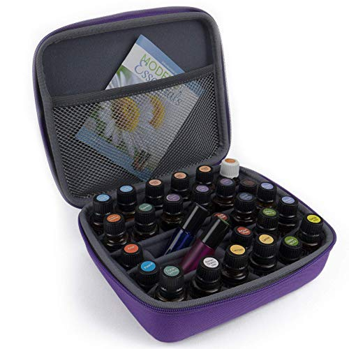 Highest Quality Fragrances - Essential Oils Storage - Essential Oil Case Holds 30 Bottles. Best for 10 15 ml and Roller Bottles. Highest Quality Carrying Travel Cases. Organizer Holder Accessories for Young Living & Doterra Oils