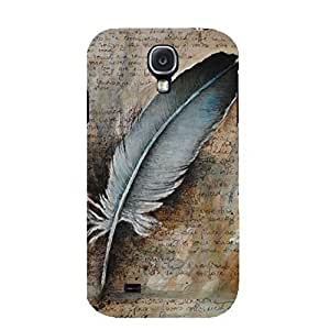 Samsung Galaxy S4 I9500 3D Beautiful color Feather phone case Hot design Samsung Galaxy S4 I9500 Feather Excellent design