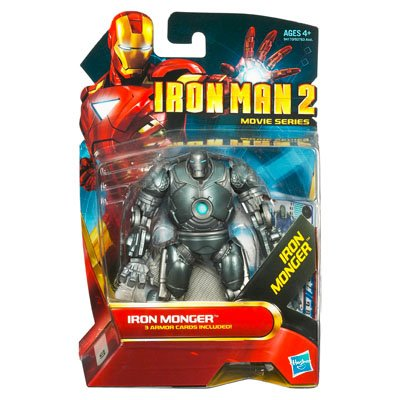 (Hasbro Iron Man 2 Movie Series Iron Monger Action Figure #7)