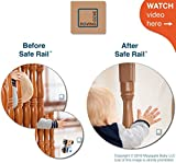 Roving Cove Safe Rail - Balcony and Stairway Safety Net - Banister and Stairs Rail Net