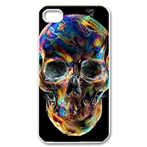 For Apple Iphone 5C Case Cover Colorful skeleton Phone Back Case Custom Art Print Design Hard Shell Protection FG042997