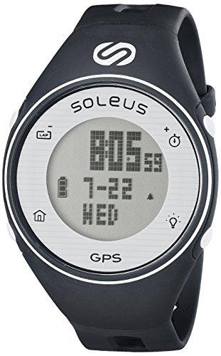 Soleus GPS One Running Watch - Navy/White by Soleus by Soleus