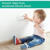 Esonstyle 40 Pack Outlet Plug Covers Clear Child