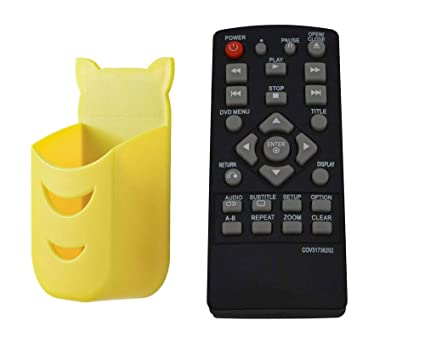 New Replacement Remote Control for LG DP132 DP132NU DVD Player Almost for  All LG DVD Player Universal Remote for LG COV31736202 DVD Remote