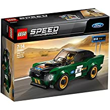 Lego Speed Champions 1968 Ford Mustang Fastback 75884 Building Kit (183 Piece), Multi