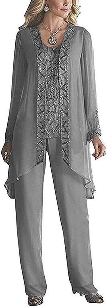 Women's Elegant Sale SALE% OFF Chiffon Mother of The Pant Suits Weddi for Sale Bride
