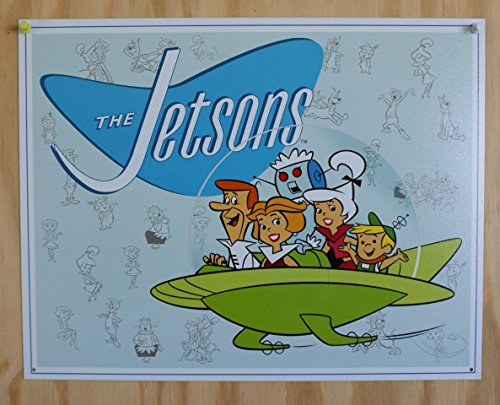 Jetson's Family Tin Sign 13 x 16in