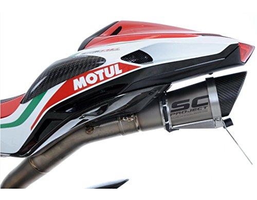 R/&G RACING Support de Plaque Noir MV Agusta F4 RC