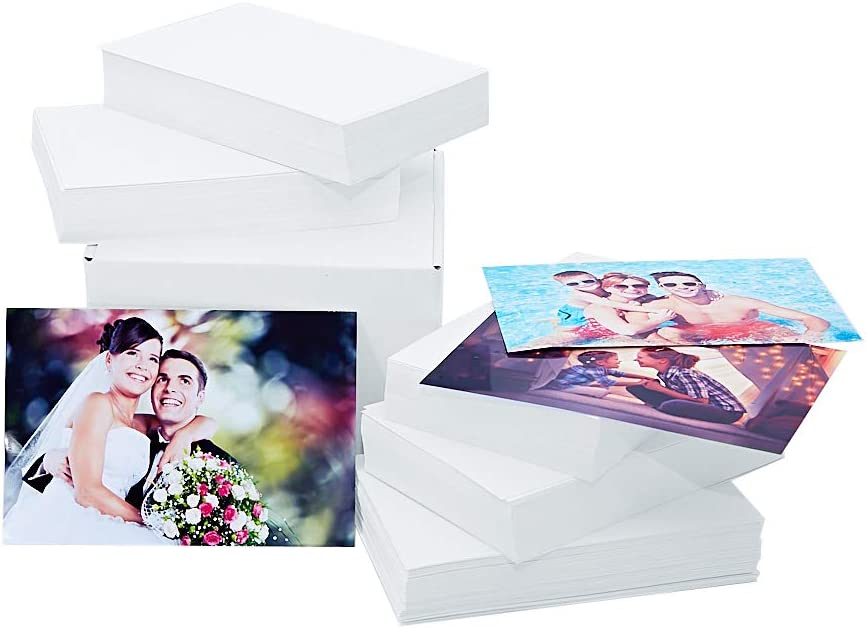 Printerry Glossy Photo Paper 4x6 In, 500 Sheets, 250gsm/10mil