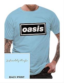 900c04097320 Amazon.com: AWDIP Men's Official Classic Oasis Logo T-Shirt: Clothing