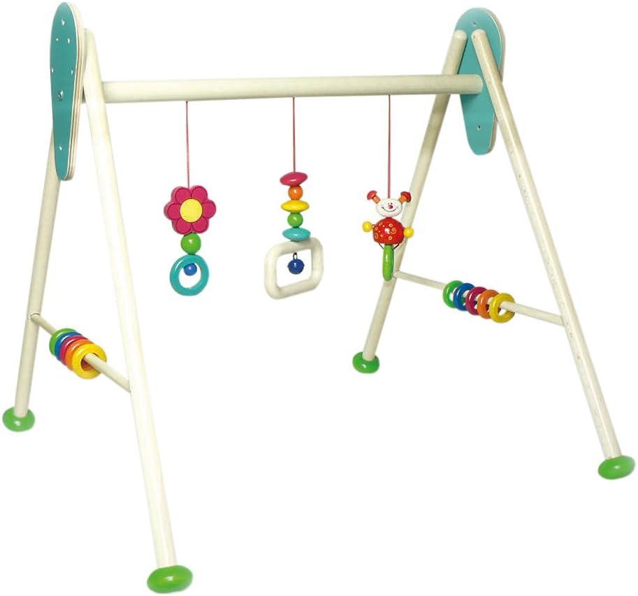 Hess 13373 - Barra de actividades de gimnasio para bebé, diseño escarabajo Tom