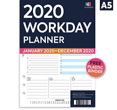 NBplanner 2020 - Recambios para agenda (tamaño A5), color ...