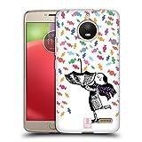 Head Case Designs Candies Shower Of Colours Soft Gel Case for Motorola Moto E4 Plus