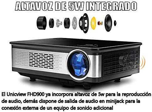 Proyector Full HD nativo 1080P, UNICVIEW FHD900 Última Versión ...