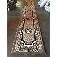 Traditional Long Runner Rug Berber Design #D123(2ft.4in X10ft.x11in.)