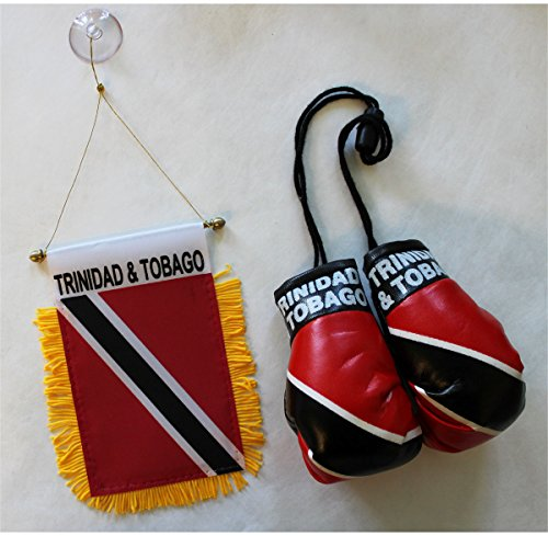 Trinidad and Tobago - Boxing Glove and Window Hanger Combo