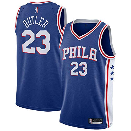 d501fcdc025 Jimmy Butler Philadelphia 76ers Swingman Player  23 Jersey Icon Edition  Royal (Blue