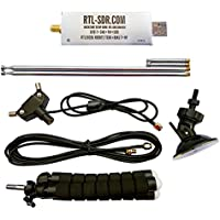 RTL-SDR Blog R820T2 RTL2832U 1PPM TCXO SMA Software Defined Radio with 2x Telescopic Antennas