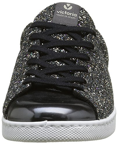 Victoria 112558, Zapatillas de Baloncesto para Mujer Gris (Antracita)