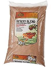 Zilla Ground English Walnut Shells Desert Blend, 10-Quart Bag Large