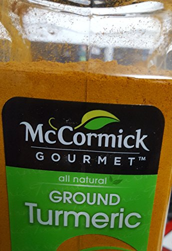 McCormick All Natural Ground Turmeric, 12 oz.(PACK OF 2) by McCormick