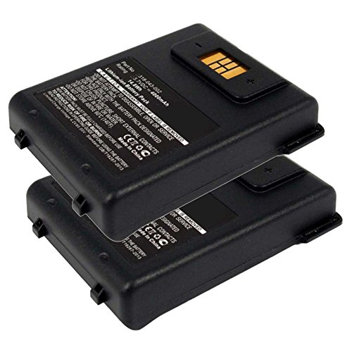 2x Exell EBS-CN70 Li-Ion 3.7V 4000mAh Batteries For Intermec CN70, CN70e. Replaces Cameron Sino CS-ICN700BL, INTERMEC 318-043-002 by Exell Battery
