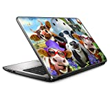 Udderly Cool - 15 inches 15.6 inches Custom Fit Made to Order Laptop Notebook Skin Vinyl Sticker Cover Decal Fits HP Lenovo Apple Mac Dell Compaq Asus Acer