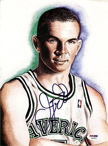 Jason Kidd Autographed Signed Magazine Page Photo Mavericks S63201 PSA/DNA Certified Autographed NBA Magazines