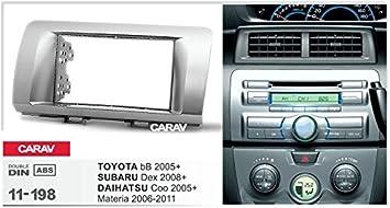 Carav 11 198 Doppel Din Autoradio Radioblende Dvd Dash Elektronik