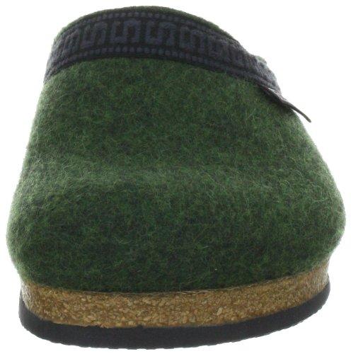 Stegmann Stegmann 108 17801 - Pantuflas de fieltro unisex Green 8810