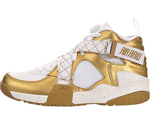 detailed look e4175 e0d55 Nike Air Raid QAM Men Sneakers Metallic Gold White 642330-700 (SIZE  8) -  Buy Online in UAE.   Apparel Products in the UAE - See Prices, Reviews and  Free ...