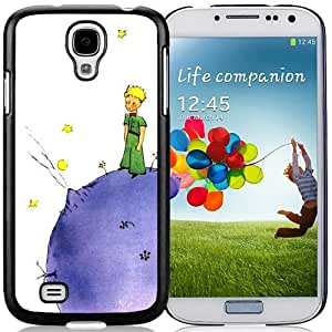 Hot Sale Samsung Galaxy S4 I9500 Case ,Little Prince Lovely Black Samsung Galaxy S4 Cover Unique And Popular Designed Phone Case