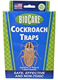 BioCare Cockroach Traps with Bait, 6 Count