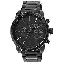 Diesel Double Down 51 DZ4207 Men's Wrist Watches, Black Dial